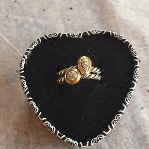 Brighton Silver and gold rings